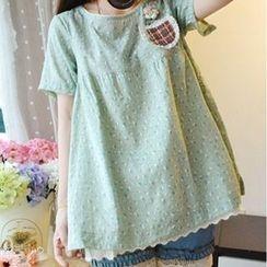 Tangi - Printed Short-Sleeve T-Shirt
