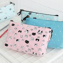 Class 302 - Cat Print Pencil Case