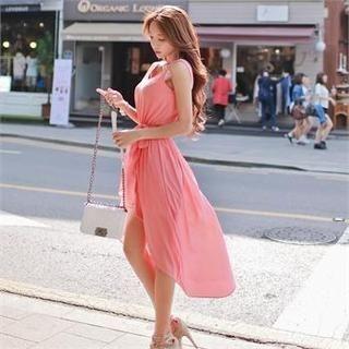 Babi n Pumkin - Sleeveless Dip-Back Dress