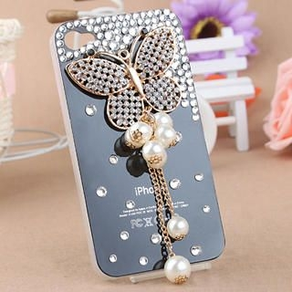 Fit-to-Kill - Tassel Butterfly iPhone 4/4S Case
