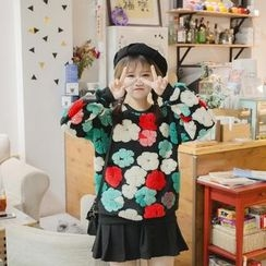Eva Fashion - Flower Think Sweater