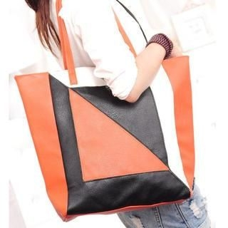 TAIPEI STAR - Color-Block Tote