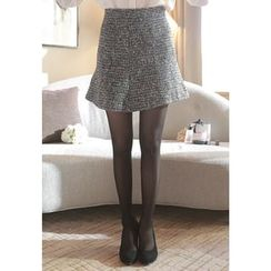 MyFiona - A-Line Tweed Mini Skirt