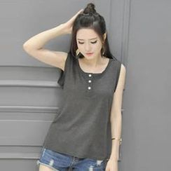 Champi - Henley Tank Top