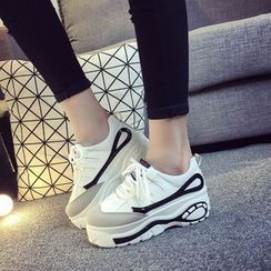 Laceuplux - Platform Sneakers
