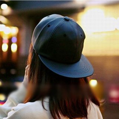 FROME - Faux Leather Cap