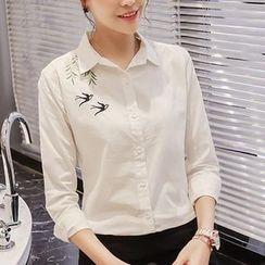 EFO - Long-Sleeve Embroidery Shirt