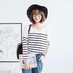 Forest Girl - Striped T-Shirt