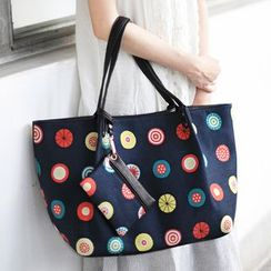 SUPER LOVER - Canvas Print Tote Bag