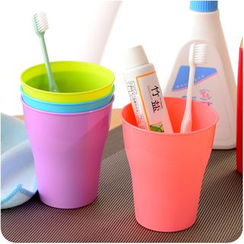 Desu - Couple Matching Plain Toothbrush Cup