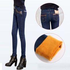 Mija - Fleece-lined Skinny Jeans