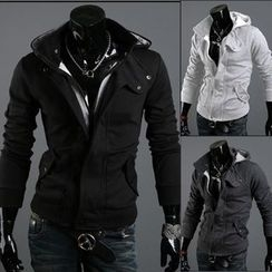 Free Shop - Hooded Zip Jacket
