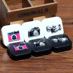 Lens Kingdom - Camera Print Contact Lens Case Set
