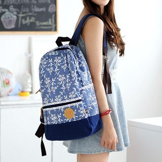 59 Seconds - Floral Backpack