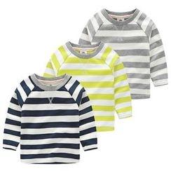 Seashells Kids - Kids Striped Long-Sleeve T-Shirt