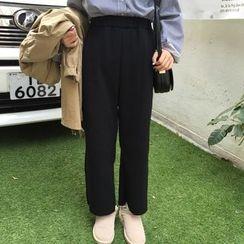 气质淑女 - 宽脚裤
