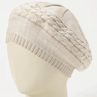 GRACE - Cable-Knit Beret