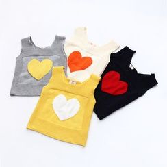 Seashells Kids - Kids Heart Knit Vest