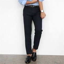 Smallman - Flat-Front Dress Pants