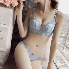 HYG Lingerie - 套装: 文胸 + 内裤