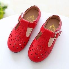 绿豆蛙童鞋 - 儿童平跟鞋