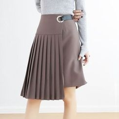 TAILO - Pleated A-Line Skirt