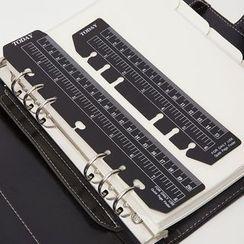Neverland - Clear Notebook Ruler