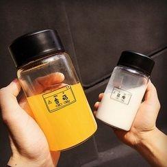 Sensam - Lettering Drinking Glass Tumbler