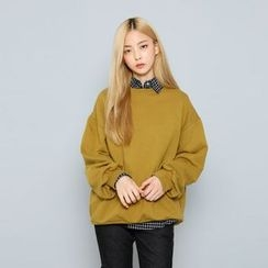 Envy Look - Puff-Sleeve Boxy Pullover