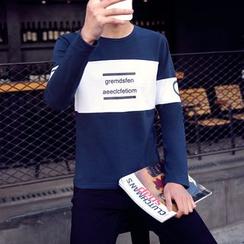 Alvicio - 字母拼色套衫