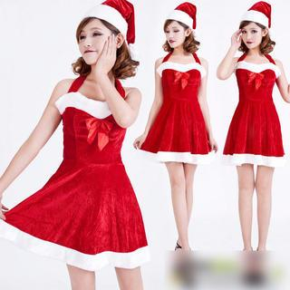Cosgirl - Santa Girl Party Costume