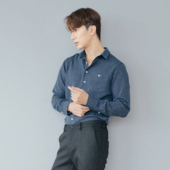 DANGOON - Pocket-Front Mélange Shirt