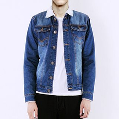Evzen - Fleece Lined Denim Jacket