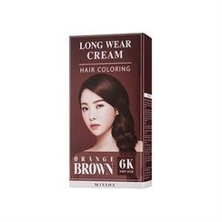 Missha 谜尚 - Long Wear Cream Hair Coloring (#6K Orange Brown)