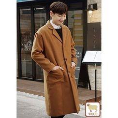 JOGUNSHOP - Single-Breasted Long Coat