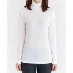 Someday, if - Turtle-Neck Slim-Fit Top