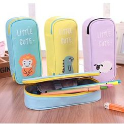 School Time - 动物印花笔盒