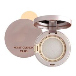 CLIO - Moist Cushion SPF50+, PA+++ (#01 Natural Beige) With Refill