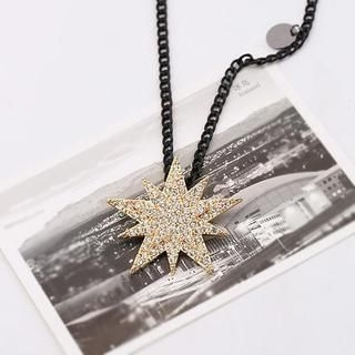 Love Generation - Rhinestone Star Necklace