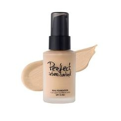 touch in SOL - Perfect Sebum Control Real Foundation SPF15  PA+ (#21 Nude Beige)