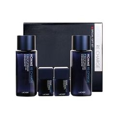 LACVERT - Homme Recharge Special Set: After Shave 185ml + Emulsion 180ml + After Shave 35ml + Emulsion 35ml