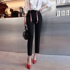 DABAGIRL - Colored Tapered Drees Pants