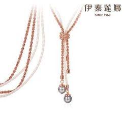 伊泰蓮娜 - 仿珍珠流蘇項鍊