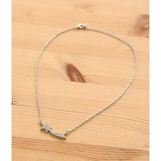 Petit et Belle - Shooting Star Rhinestone Necklace