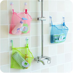 Desu - Wall Suction Mesh Organizer
