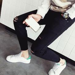 Hansler - Distressed Slim-Fit Jeans