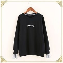 Fairyland - Letter Panel Sweatshirt
