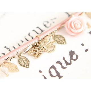 Sechuna - Leaf Charm Bracelet