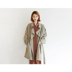 FROMBEGINNING - Double-Breasted Trench Coat