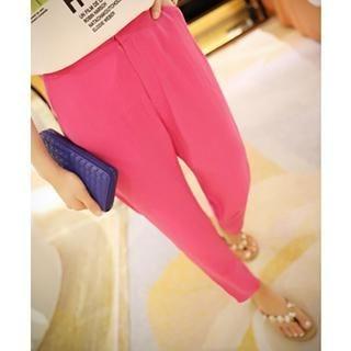 Dora - Plain Cropped Pants